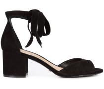 'Nere' Sandalen mit Schnürung - women - Leder