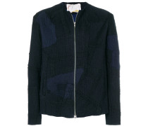 patchwork detail jacket