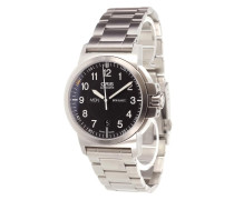'BC3 Air Racing Silver Lake' analog watch