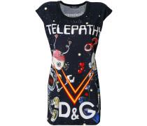 Telepathy print T-shirt