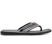 Flip-Flops mit Logo-Riemen