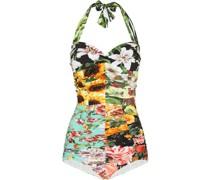 Badeanzug mit Blumen-Print