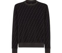 Sweatshirt mit FF-Muster