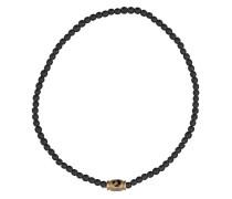 Small Moon Star Barrel beaded bracelet