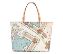 - Handtasche mit floralem Print - women