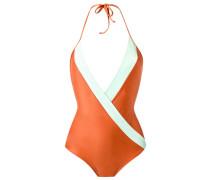 deep V neck swimsuit - women - Polyamid/Elastan