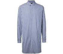 Langes Hemd mit Streifen - men - Baumwolle - 48