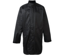 Weiter Mantel mit Reißverschluss