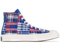 Twisted Prep Chuck 70mm checked sneakers