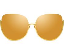 'Kennedy' Oversized-Sonnenbrille