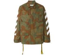 Camouflage-Jacke mit Logo