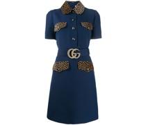 Kurzes Kleid mit GG-Gürtel