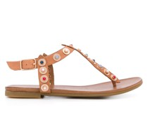 'Kankan' Sandalen mit Cabochons
