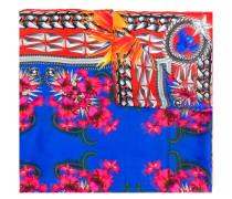 multi-print lightweight scarf
