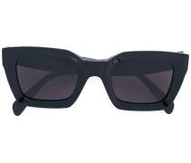 thick-framed sunglasses - women - Acetat