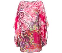 Strandkleid mit Paisley-Print - women - Viskose