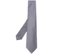 Gewebte Krawatte mit Quadraten