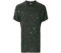 stain effect T-shirt