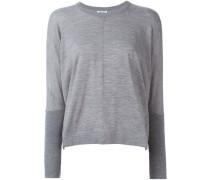 Oversized-Pullover mit Rundhalsausschnitt