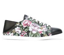 - Sneakers mit floralem Print - women