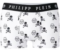 skull print boxers - men