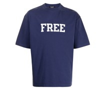 "T-Shirt mit ""Free""-Patch"