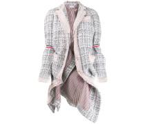 Tweed-Jacke im Oversized-Look