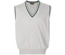 sleeveless cashmere jumper