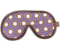 'Cobalt Cravat' Schlafmaske