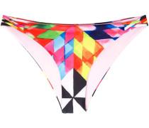 diamond pattern bikini bottoms