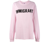 'Immigrant' Langarmshirt