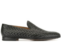 Loafer mit Webmuster