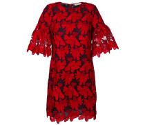Kleid mit strukturiertem Print