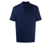 Poloshirt mit aufgesetzter Tasche