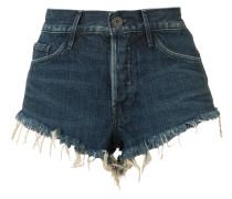 cut off denim shorts - women - Baumwolle - 26