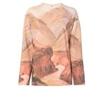Pullover mit Landschafts-Print