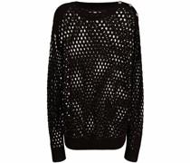 Pullover aus Pointelle-Strick