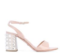- Sandalen mit verziertem Absatz - women
