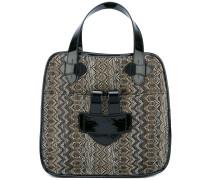 Große 'Zelig' Handtasche - women - Stroh