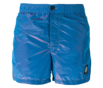 iridescent swim shorts - men