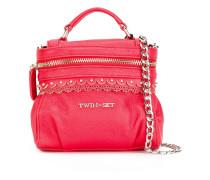 Handtasche mit abnehmbarem Kettenriemen