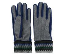 Handschuhe mit gerippten Bündchen