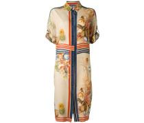 Hemdkleid mit Print - women - Seide - 48