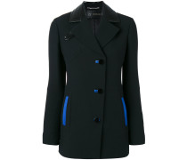 blue accented jacket