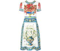 "Kleid mit ""Majolica""-Print"