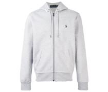 zipped hoodie - men - Baumwolle/Polyester - XL