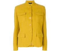 mandarin collar Americana jacket