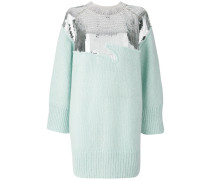 sequin jumper dress