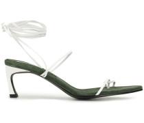 'Odd Pair' Sandalen mit Schnürung, 70mm