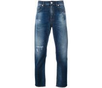 straight stonewash jeans